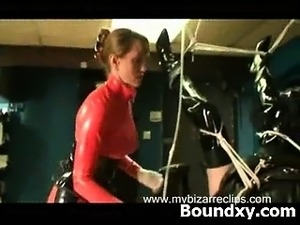 Awesome Breasts Ferocious Latex Mature Explicit Makeout
