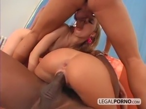 Two guys with big dicks and two sexy girls fuck hard HC-12-04 free