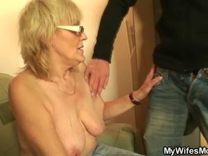 He fucks porn-loving in-law