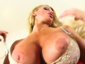 Taylor wants to get that big black cock inside her and she is taking it all...