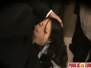 Miku Asaoka enjoys wild public sex