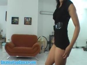 Amazing lapdance by czech hottie free