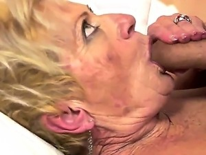 Horny granny Malya loves the sweet intense pleasure of a big cock ramming her...