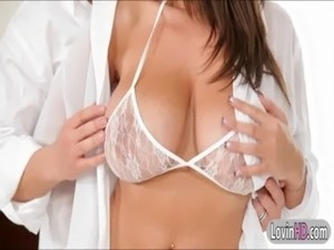 Hot babe Jane with massive tits has a very intimate anal sex free