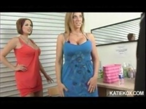 Katie Kox and Sara Jay - Stripper Auditions free