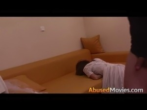 Abusive Couple Force Fucking A Young Bride free