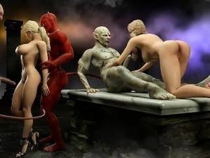 Satanic sex video tube
