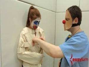 Rose Red turned into anal clown car and humiliated free