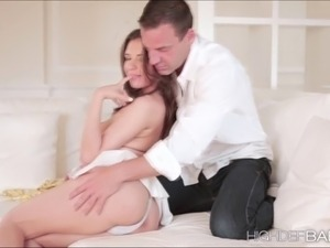 Super Hot gf Henessys tight pussy sex with her lover She gets undressed...