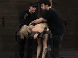 BDSM sub Sarah Jane Ceylon on sybian
