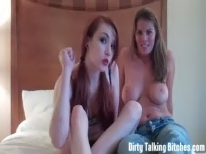 Let us help you jerk that big hard cock JOI free