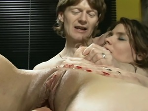 When two cocks are not enough for this horny slut... they also teases her...