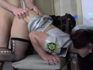 Naughty Russian Mother In A Kinky Costume