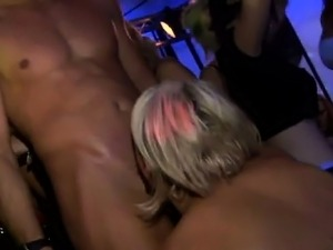Yong beauties fucked after dance
