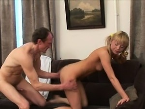 Mind-blowing doggy style fucking with lustful old teacher