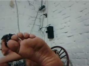 chatroulette male feet