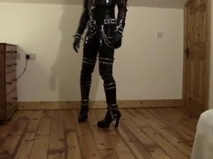 Amazing Latex PVC Leather BDSM Kinky Fetish Outfit