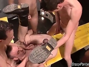 Super hot and  sexy gay dudes are having great group gay