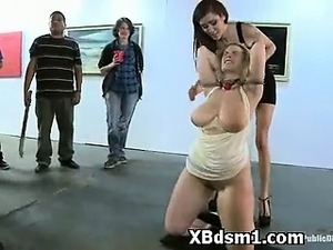 Cruel Teen In Seductive BDSM Mature