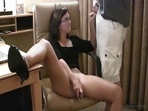 Intercourse With Hot Girl In Glasses