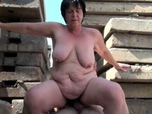 BBW grandma still enjoys grandpa\'s tiny dick