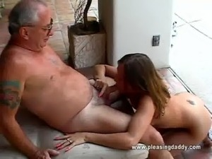 Cutie Gets Throat Fucked By Old Man free