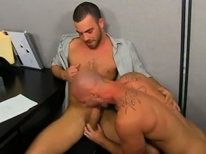 Naked guys Muscle Top Mitch Vaughn Slams Parker Perry