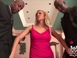 Samantha Sin is a sexy blonde milf with a fine tight body. Watch her seduce...