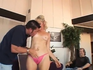 Blonde Swinger Swings More