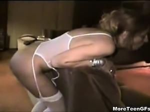 Perverted ex gf enjoys my huge ebony shaft