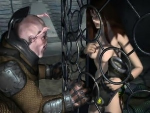 3D animated sixty nine style oralsex and riding dick