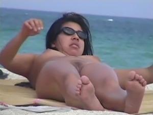 Nudist beach free