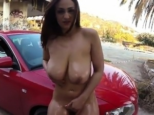 Nasty Hoe Touches Herself And Gets Fucked