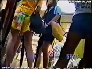 Outdoor Viewing Upskirt Panties
