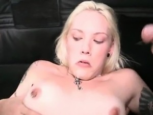 Slutty amateur takes doggy style pounding