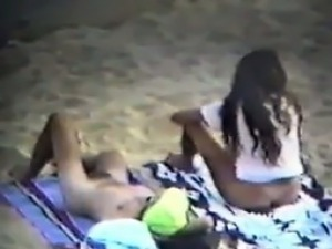 Naughty People At The Beach