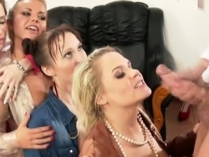 Piss puddle sluts cumswap after urine fuck