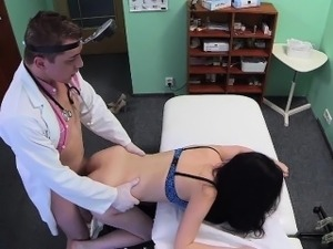 FakeHospital Doctor prescribes his cock to help sexy patient