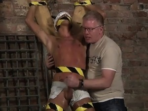 Sexy men Slave Boy Made To Squirt