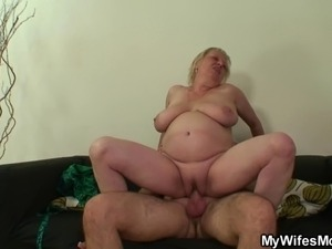 Cock hungry in-law seduces him