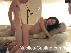 Teen cutie Marissa Mei interviews amateur pornstar hopefull Aurora Monroe and...