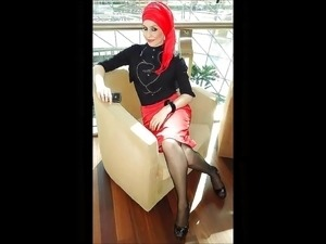 Turkish-arabic-asian hijapp mix photo 20