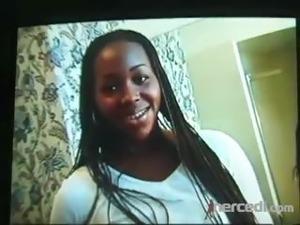 Amateur Ebony Fucked Outdoors Vintage