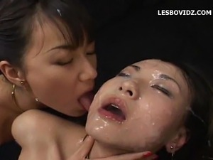 Darron recommend best of facials getting lesbians 2 cum