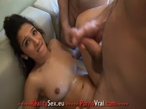 Beurette arab blinded fuck with 3 strangers !!! French amateur free