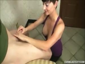 Naughty Nurse Jerks A Big Dick free