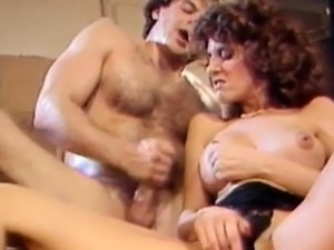Krista Lane - Hot Babe Pleasing A Hairy Cock