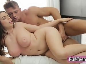 Teen get tit fuck cumshot after fucking
