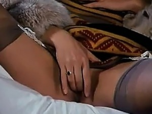 Lonely Rich Woman Masturbates Alone