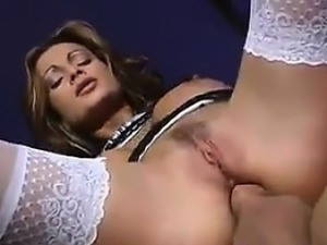 French MILF With Great Tits Fucked In The Ass
